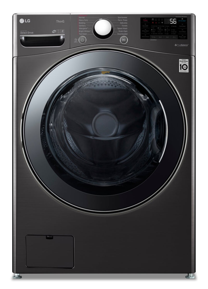 LG 5.2 Cu. Ft. Smart All-in-One Front-Load Washer/Dryer - WM3998HBA | Ensemble laveuse et sécheuse intelligentes tout-en-un LG à chargement frontal de 5,2 pi3 - WM3998HBA | WM3998HB