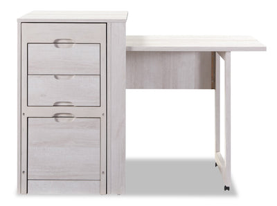 Pentland Fold-Down Desk with Chair  | Bureau rabattable Pentland avec chaise  | PENTLDSK