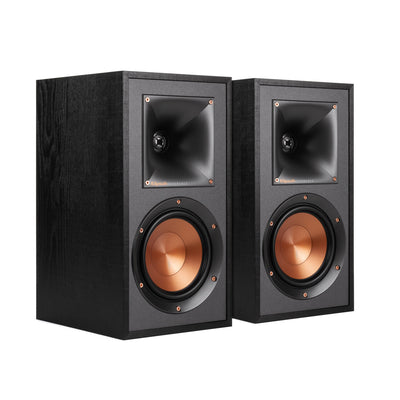 Klipsch R-51M Bookshelf Speakers - Set of Two | Haut-parleurs d'étagère R-51M de Klipsch - Ensemble de 2  | R51MSPKR