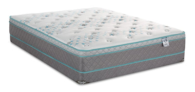 Springwall Orion Eurotop Low-Profile Twin Mattress Set | Ensemble matelas à Euro-plateau à profil bas Orion de Springwall pour lit simple | ORIONLTP