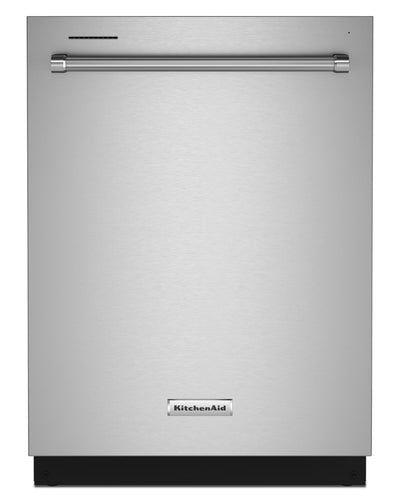 KitchenAid 39 dB Top-Control Dishwasher with Third Level - KDTE204KPS - Dishwasher in Stainless Steel with PrintShield™ Finish