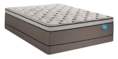 Serta Perfect Sleeper Oasis Haven Pillowtop Low-Profile Queen Mattress Set | Ensemble matelas à plateau-coussin profil bas Haven Oasis Perfect SleeperMD de Serta pour grand lit | OAHAVLQP