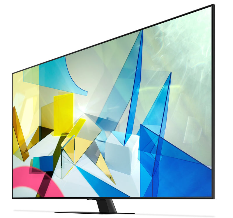 "Samsung 75"" Q80T 4K Smart QLED Television With Direct Full"