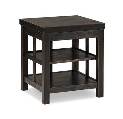 Parl End Table - Black  | Table de bout Parl - noire  | PARLXETB