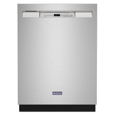 Maytag Front-Control Dishwasher with Dual Power Filtration - MDB4949SKZ - Dishwasher in Fingerprint Resistant Stainless Steel