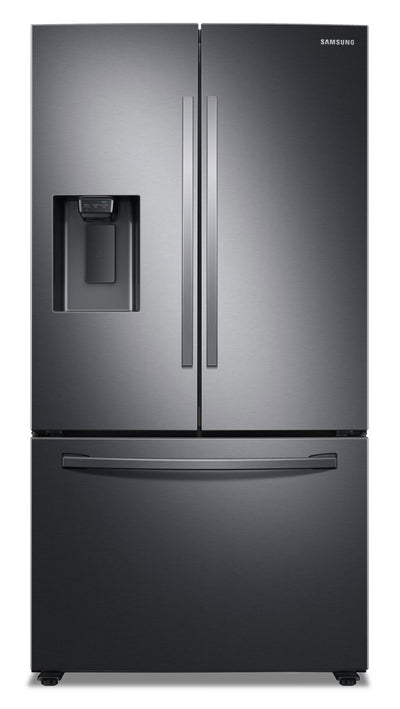 Samsung 27 Cu. Ft. French-Door with SpaceMax Technology™ - RF27T5201SR/AA - Refrigerator in Black Stainless Steel