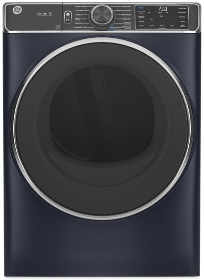 GE 7.8 Cu. Ft. Front-Load Dryer with Built-In Wi-Fi - GFD85ESMNRS - Dryer in Sapphire Blue