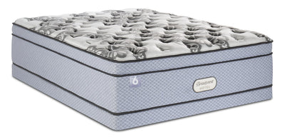 Beautyrest® Hotel 6 Eurotop Low-Profile Queen Mattress Set | Ensemble matelas à Euro-plateau à profil bas Hotel 6 de BeautyrestMD pour grand lit | 6HTLBLQP