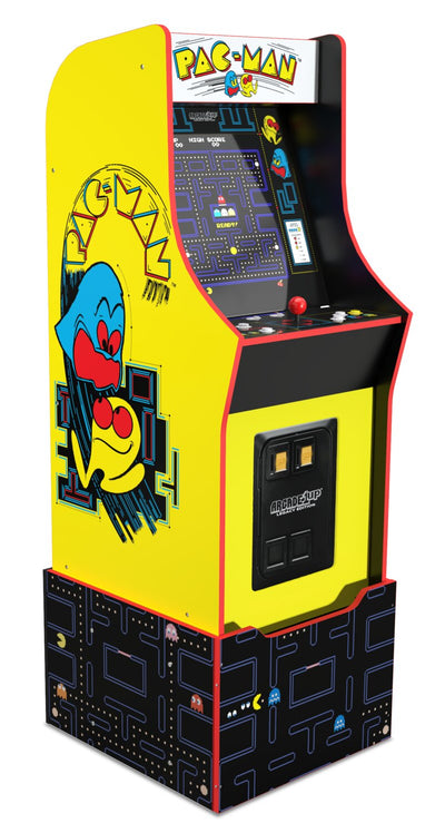 Arcade1Up Bandai Namco Entertainment Legacy Edition Arcade Cabinet with Riser | Borne d'arcade Arcade1Up édition Bandai Namco Entertainment Legacy avec plateforme | PACMANLE