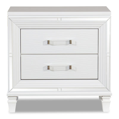 Max Nightstand - White | Table de nuit Max - blanche | MAX2W2NS
