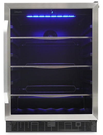 Silhouette Riccotta 5.7 Cu. Ft. Beverage Centre - SBC057D1BSS - Beverage Centre in Stainless Steel