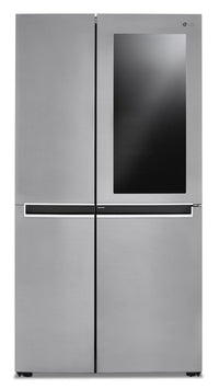 LG 27 Cu. Ft. Side-by-Side Refrigerator with InstaView™ Door-in-Door® - LRSES2706V