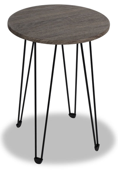 Lola Chairside Table - Dark Taupe