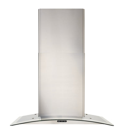 "Broan Elite 30"" Curved Glass Chimney Range Hood - EW4630SS 