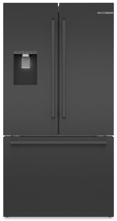 Bosch 21.6 Cu. Ft. Counter-Depth French-Door Refrigerator - B36CD50SNB - Refrigerator in Easy Clean Stainless Steel