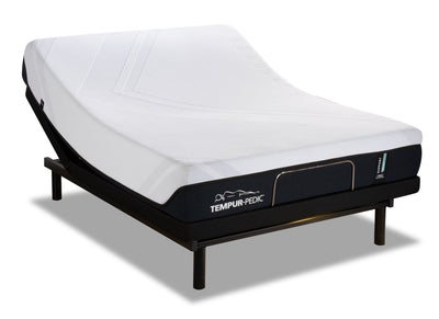 TEMPUR-Support 2.0 Medium Hybrid Full Mattress with Reflexion® by Sealy Pulse Adjustable Base | Matelas TEMPUR-Support 2.0 Medium Hybrid pour lit double et base ajustable Reflexion Pulse de Sealy  | SH2PADFP