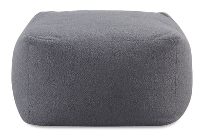 Jenny Pouf - Grey  - Contemporary style Ottoman in Grey