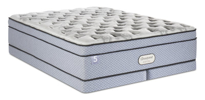 Beautyrest® Hotel 5 Eurotop Low-Profile Split Queen Mattress Set