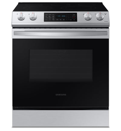 Samsung 6.3 Cu. Ft. Electric Range with Convection - NE63T8311SS/AC - Electric Range in Stainless Steel