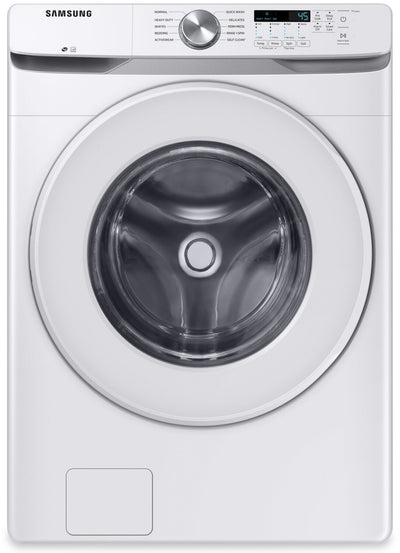 Samsung 5.2 Cu. Ft. Front-Load Washer - WF45T6000AW/US - Washer in White
