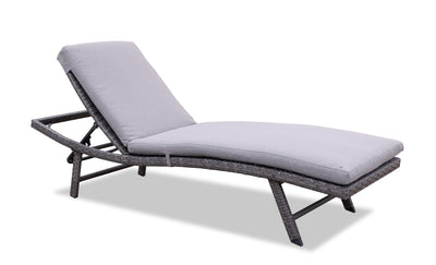 Costa Lounger - Grey | Chaise longue Costa - grise | COSTG0LG