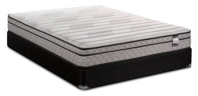 Springwall Enchantment Eurotop Twin Mattress Set