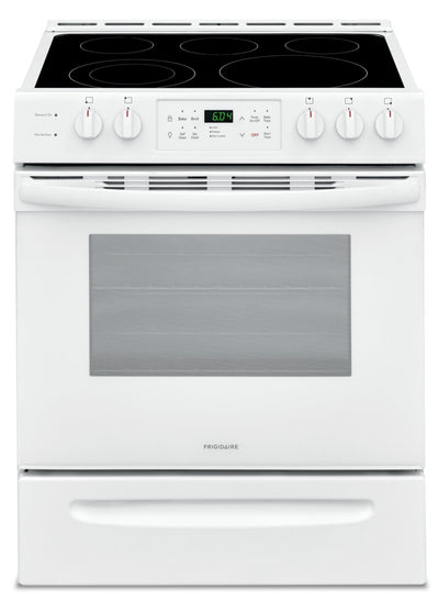 Frigidaire 5.0 Cu. Ft. Front-Control Freestanding Electric Range – CFEH3054UW - Electric Range in White