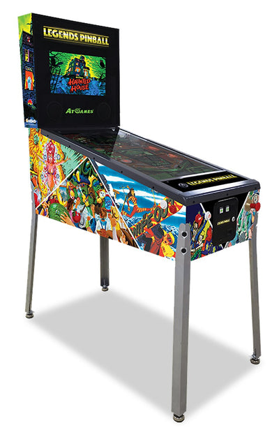 AtGames Legends Connected Pinball  | Flipper connecté Connected PinballMC Legends de AtGames  | LGNDSPIN