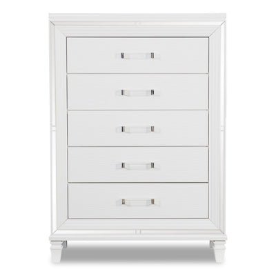 Max Chest - White | Commode verticale Max - blanche | MAX2W5CH