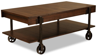 Marly Coffee Table - Brown | Table à café Marly - Brun | MARLYCTB