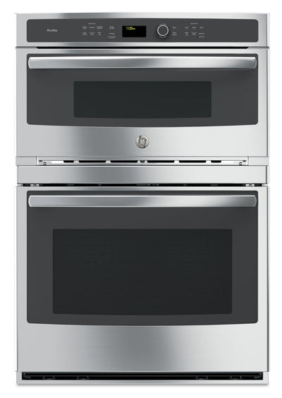 GE Profile 6.7 Cu. Ft. Built-In Combination Microwave and Wall Oven - PT7800SHSS | Four mural encastré combiné à un four à micro-ondes GE ProfileMC de 6,7 pi3 - PT7800SHSS | PT7800SS