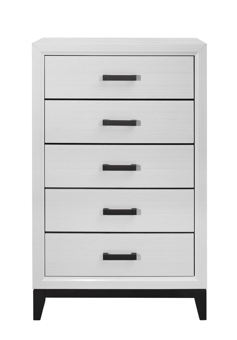 Kate Chest - White | Commode verticale Kate - blanche | KATEW5CH