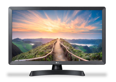 "LG Electronics Television - LG 24"" 720p HD Smart TV/Computer Monitor - 24LM530S-PU"