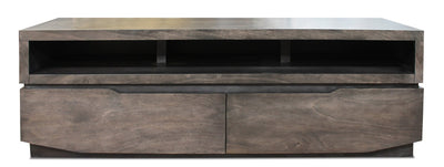 "Jonah 63"" TV Stand  - Contemporary style TV Stand in Grey"
