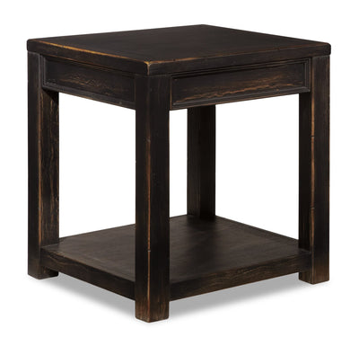 Breda End Table - Black  | Table de bout Breda - noire  | BREDAETB