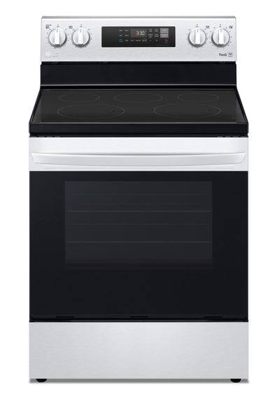LG 6.3 Cu. Ft. Smart Electric Freestanding Range - LREL6321S - Electric Range in Stainless Steel