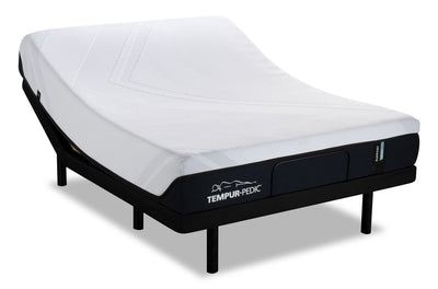 TEMPUR-Support 2.0 Medium Hybrid Queen Mattress with Reflexion® Boost 2.0 Adjustable Base  | Matelas TEMPUR-Support 2.0 Medium Hybrid pour grand lit avec base ajustable Reflexion Boost 2.0  | SHB2ADQP