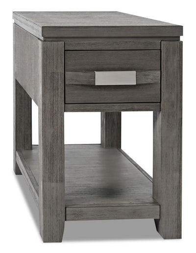 Bronx Chairside Table - Grey | Table de fauteuil Bronx - grise | BRONGCST