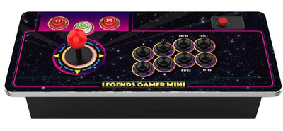 AtGames Gamer Mini Wireless Control Top Arcade with 100 Built-in Games | Centre de commandes d'arcade sans fil Gamer Mini de AtGames avec  100 jeux intégrés | GAMRMINI