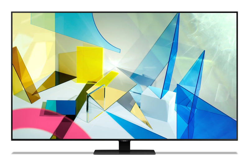 "Samsung 65"" Q80T 4K Smart QLED Television with Direct Full Array X12 - QN65Q80TAFXZC 