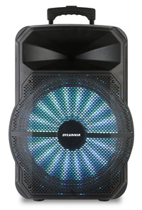 Sylvania SPA122 Bluetooth 12″ Light-Up Tailgate Speaker