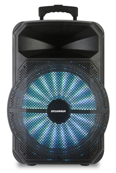 Sylvania SPA122 Bluetooth 12″ Light-Up Tailgate Speaker | Haut-parleur portatif illuminé Sylvania SPA122 12 po avec Bluetooth | SPA122BT