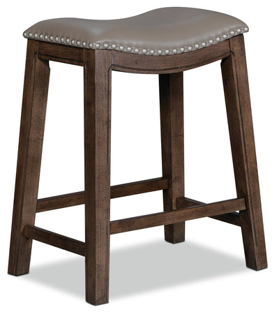 Cale Bar-Height Bar Stool - Grey | Tabouret bar Cale - gris | CALEGBST