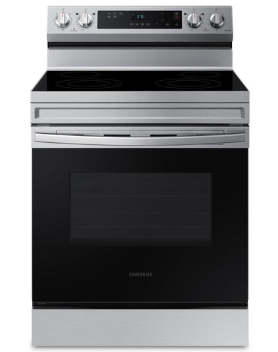 Samsung 6.3 Cu. Ft. Freestanding Electric Range with Wi-Fi - NE63A6111SS/AC | Cuisinière électrique amovible Samsung de 6,3 pi3 avec Wi-Fi - NE63A6111SS/AC | NE63A611