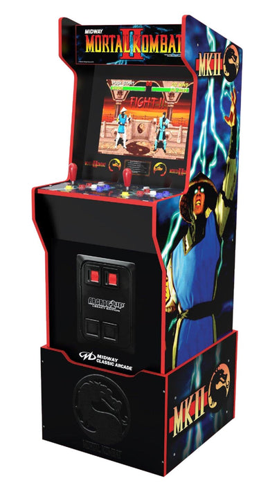 Arcade1Up Midway Legacy Cabinet with Riser | Borne d'arcade Arcade1Up édition Midway Legacy avec plateforme | MIDWAYLE