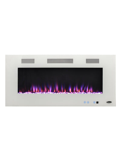 "Angel 50"" Wall-Mount Electric Fireplace   