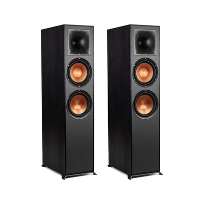 Klipsch R-820F Floor Standing Speaker - Set of Two | Haut-parleurs colonne R-820F de Klipsch - Ensemble de 2 | R820PAIR