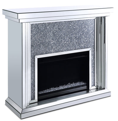 Flint Glam Fireplace  | Foyer Flint somptueux  | FLINTFIR