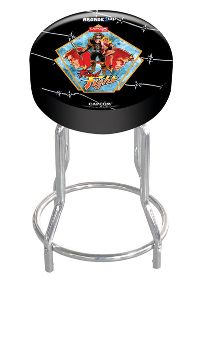 Arcade1Up Fully Licensed Adjustable Arcade Stool - Final Fight | Tabouret d'arcade réglable sous licence officielle de Arcade1Up - Final Fight | FIFGTSTL