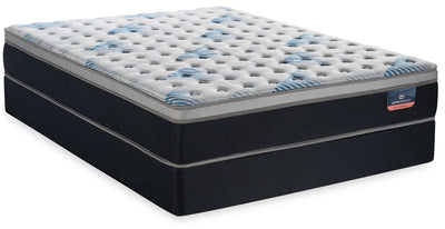 Serta Perfect Sleeper Performance Focus Eurotop Twin Mattress Set